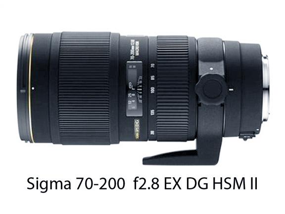 Sigma 70-200 f2.8 Canon Alternative Lens