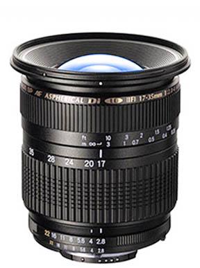 Tamron 17-35 Lens - Mount for Canon