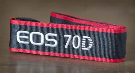 Canon's Standard 70D Strap