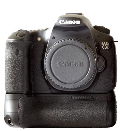 Canon 60D Battery Grip