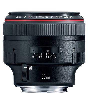Canon 85mm f/1.2 II Lens