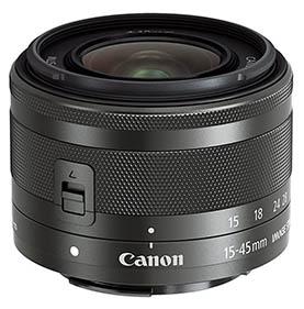 Canon EF-M 15-45mm Lens