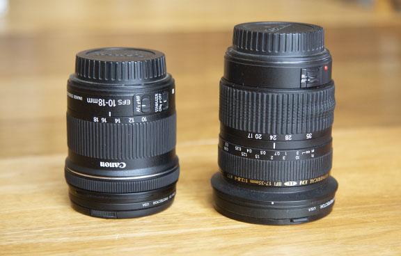 Canon EF-S vs Tamron EF Lenses