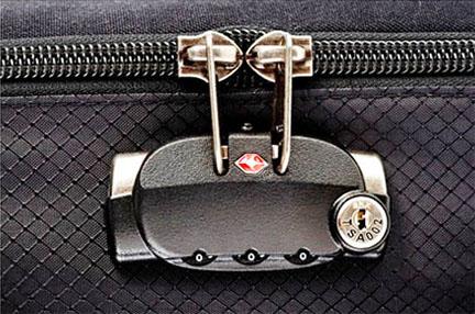 Close up of Camera Bag Zipper