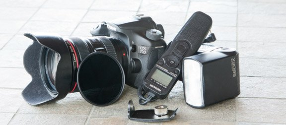 Collection of Canon EOS 70D Accessories