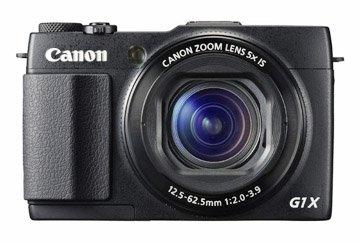 Photo of front of Powershot G1X Mark II Camera
