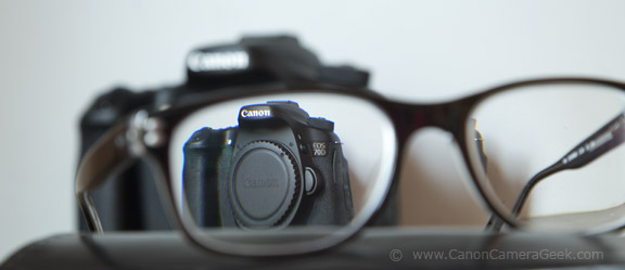 Glasses for Reading all of the Canon 70d reviews