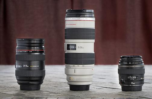 Bruce's fast Canon Lenses