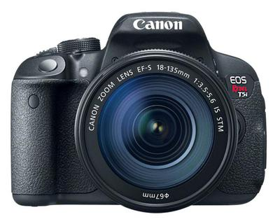 Canon t5i with 18-135mm lens