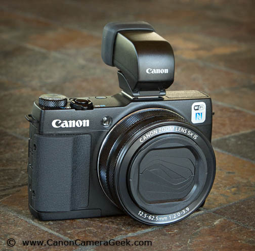 Specs - Canon G1X Mark II Camera