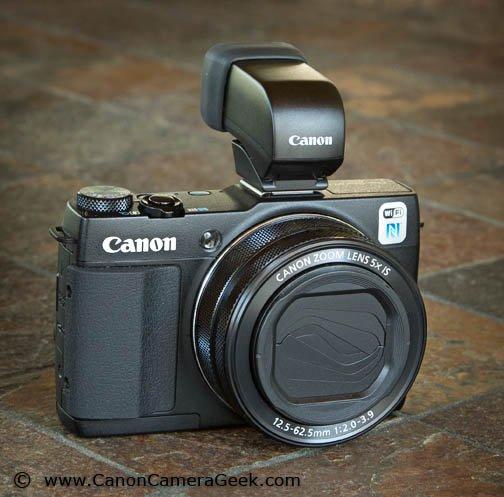 Specs - Canon G1X Mark II Camera