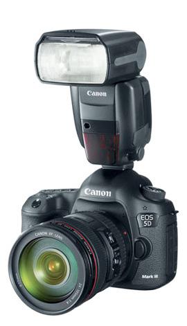 Canon 5D Mark III and Canon Speedlite 600EX-RT