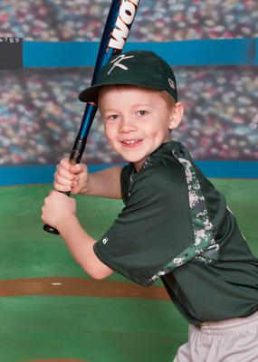 I use the 70D for Individual poses on Little League picture day.