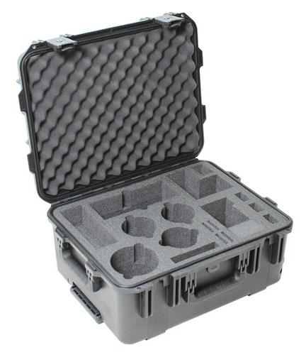 Waterproof hard camera case