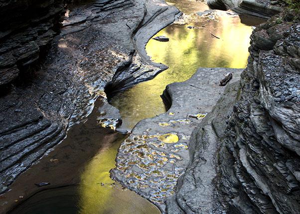 Watkins Glen Fall Color - Reflection