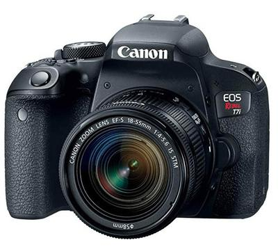Canon t7i With 18-55mm Kit Lens