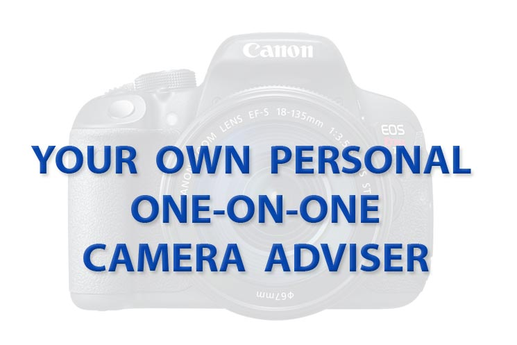 Your own one-on-one Canon camera adviser
